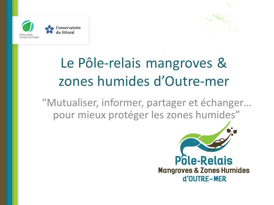 Le Pôle-relais mangroves & zones humides d'Outre-mer Mutualiser, informer, partager et échanger… pour mieux protéger les zones humides