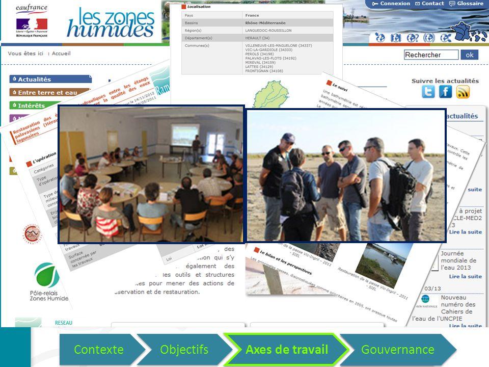 Axes de travail des Pôles-relais Promotion des bonne pratiques de conservation Retours d'Expérience (REX) Journées d'échanges Contexte Objectifs Axes de travail Questions.