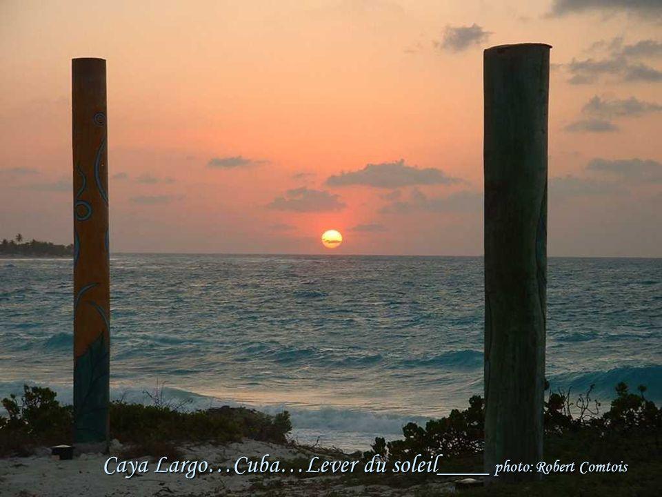Cuba…Cayo Largo…Située au Sud des État-Unis et à l'Est de l'océan Atlantique Célèbre pour ses mariages…Sa capitale: La Havane. Photo: Robert Comtois