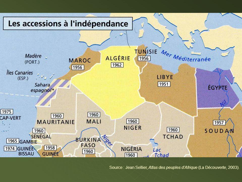 Source : Jean Sellier, Atlas des peuples d'Afrique (La Découverte, 2003).