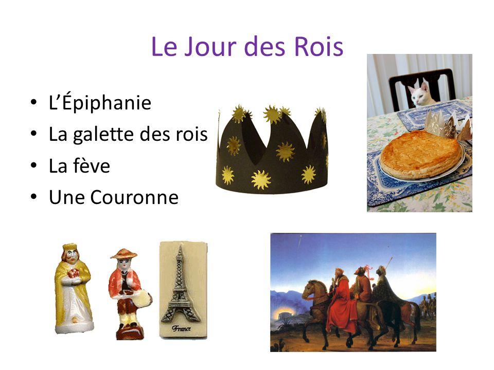 Le Jour des Rois L'Épiphanie La galette des rois La fève Une Couronne