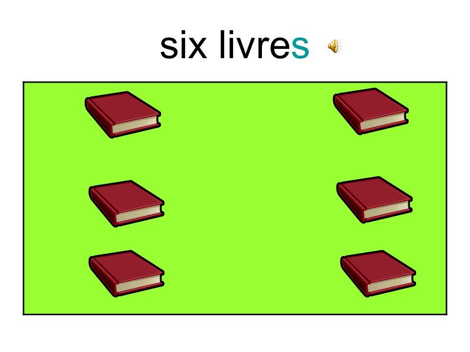 cinq crayons
