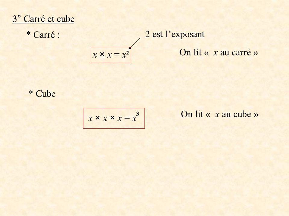 III CALCUL D'UNE EXPRESSION LITTERALE Pour CACULER une expression littérale il faut connaître la valeur attribuée aux lettres.