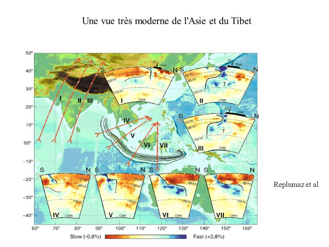 Une vue très moderne de l Asie et du Tibet Replumaz et al
