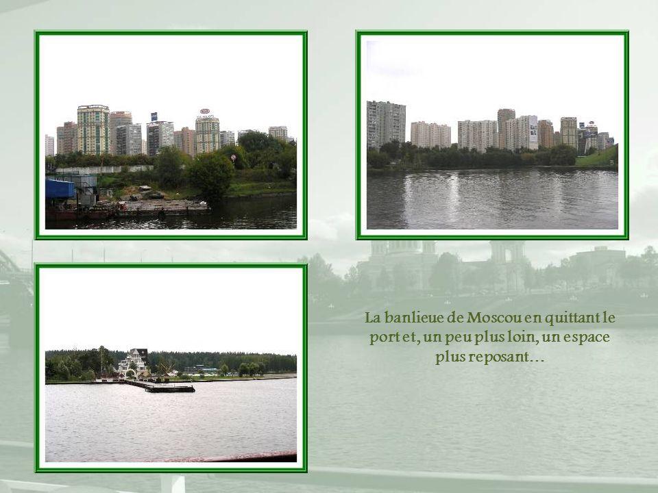 Le canal de Moscou a été ouvert en 1937.