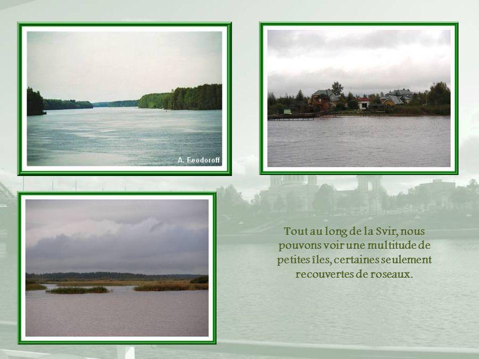 Une dernière écluse : celle du Bas-Svir et son barrage.
