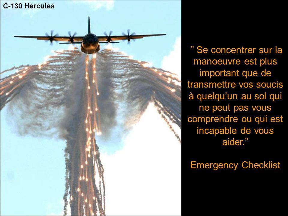 Si vous voyez un démineur courir, essayez de courir à la même vitesse - Infantry Journal - C-130 Hercules