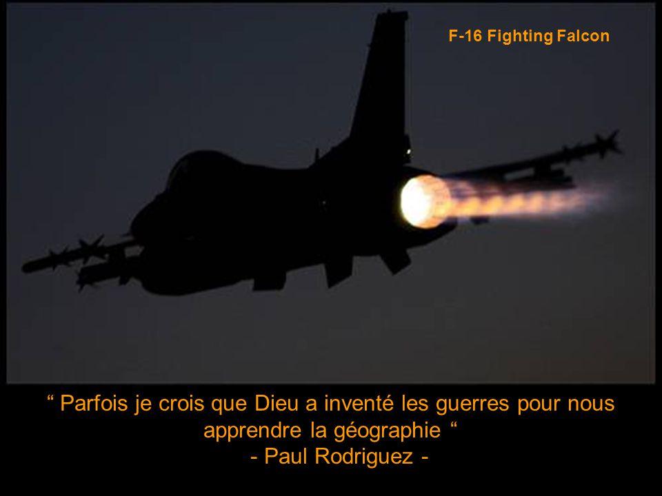 Vous savez que le train d'atterissage n'est pas sorti quand vous avez besoin de toute la puissance pour aller jusqu'au hangar. - Lead-in Fighter Training Manual - F-16 Fighting Falcon