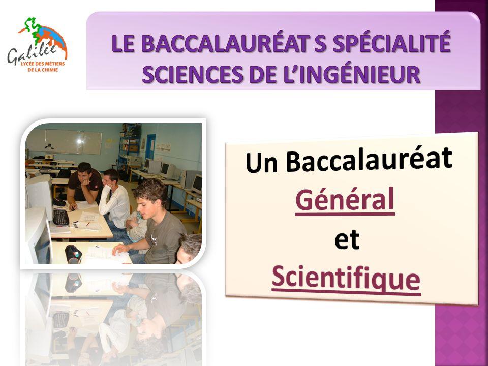 Formation ouverte à tous les élèves de seconde Les enseignements d'exploration SI, CIT et MPS donnent un premier aperçu des sciences de l'ingénieur.