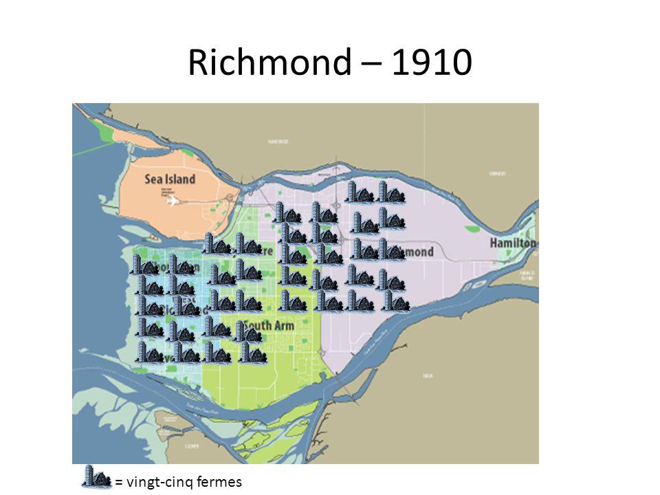Richmond – 1910 = vingt-cinq fermes
