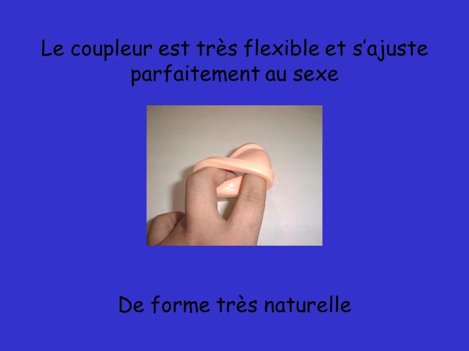 Il apporte deux coupleurs selon le diamètre du sexe Le coupleur ergonomique est en caoutchouc et avec l Abs en système antidérapant