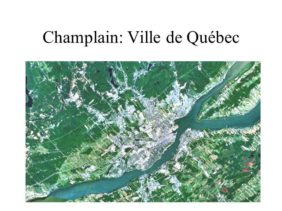 Champlain: Ville de Québec