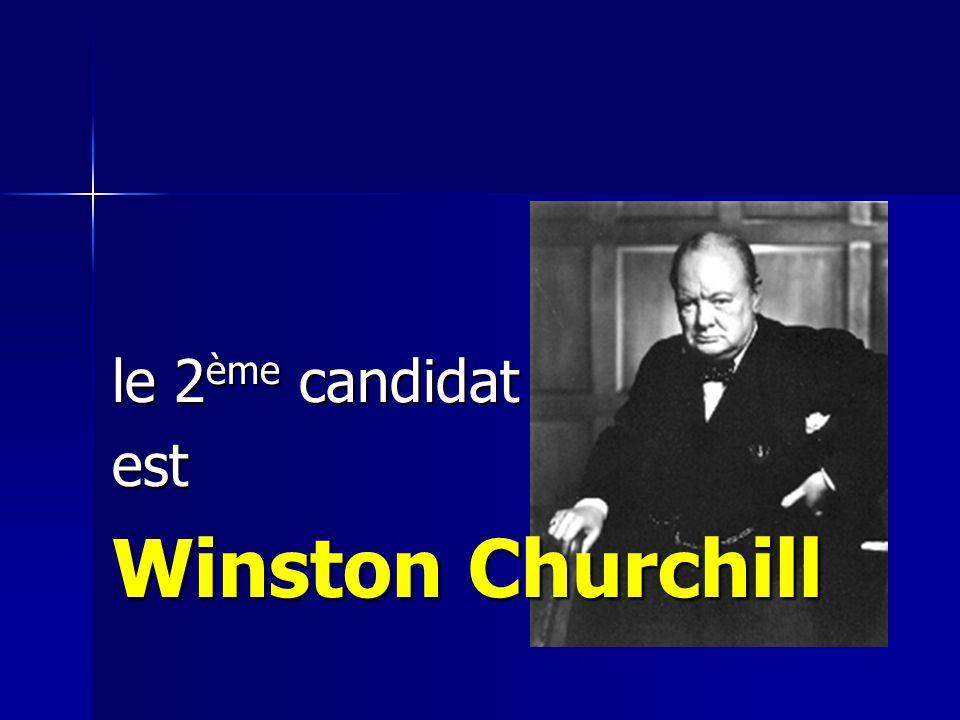 le 1er candidat est Franklin D. Roosevelt