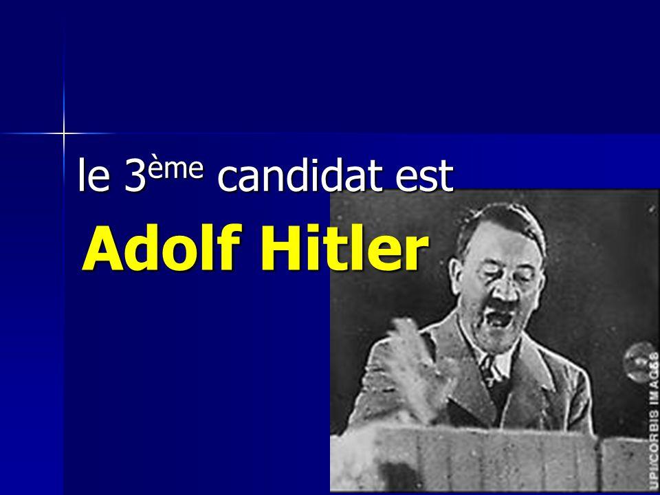 le 2ème candidat est Winston Churchill