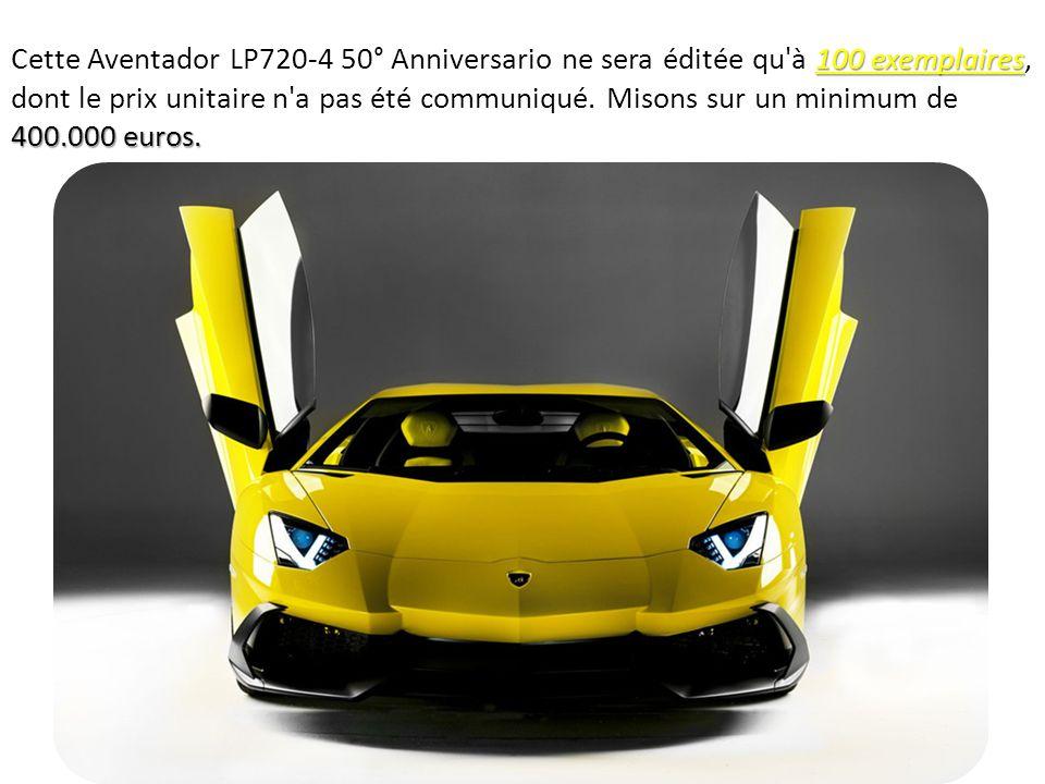 0-100 km/h 2,9 secondes 350 km/h.