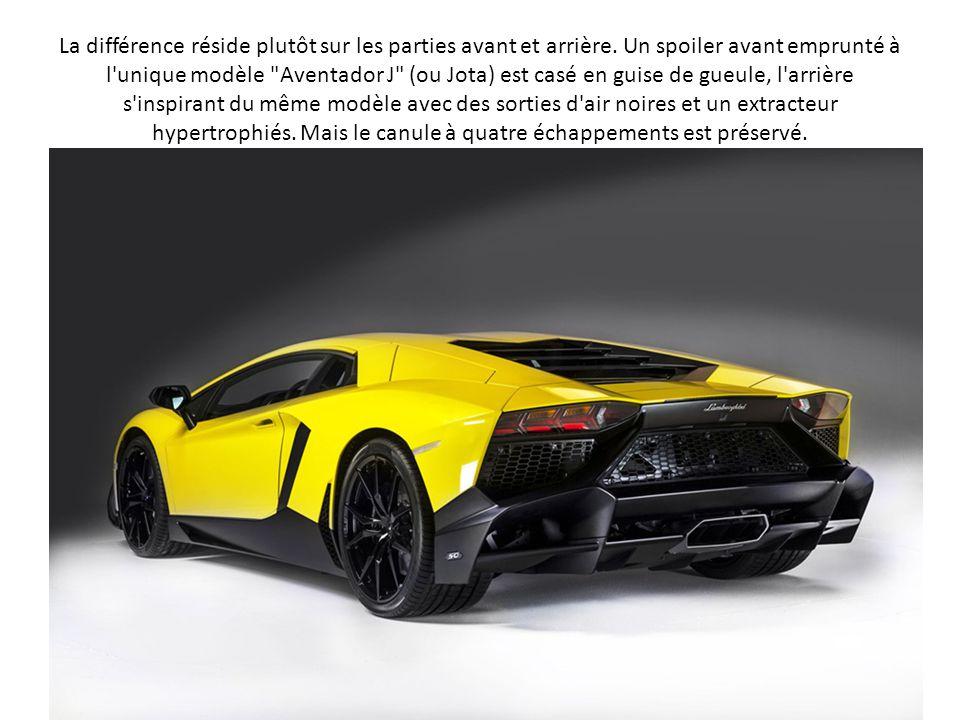100 exemplaires 400.000 euros. Cette Aventador LP720-4 50° Anniversario ne sera éditée qu'à 100 exemplaires, dont le prix unitaire n'a pas été communi