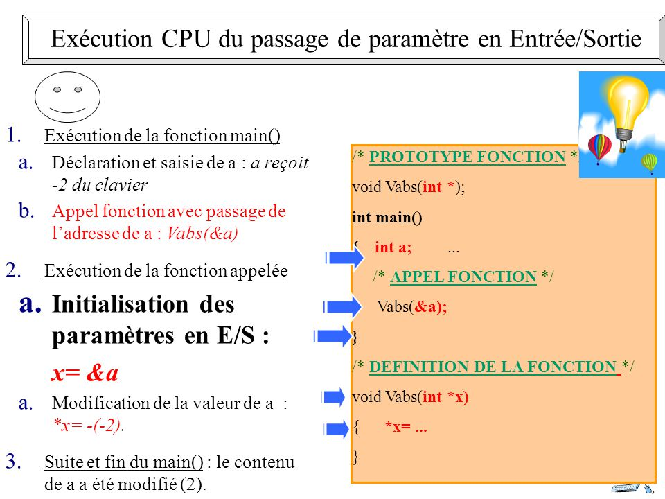 19 /* PROTOTYPE FONCTION */ void Vabs(int *); int main() { int a;...