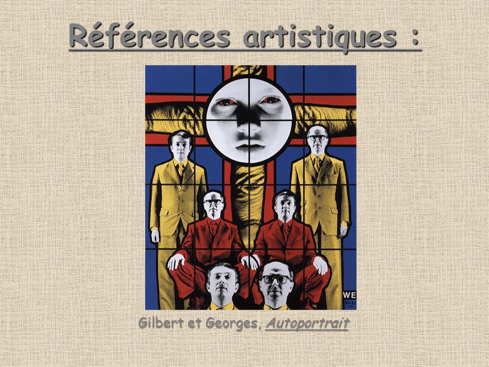 Références artistiques : Gilbert et Georges, Autoportrait