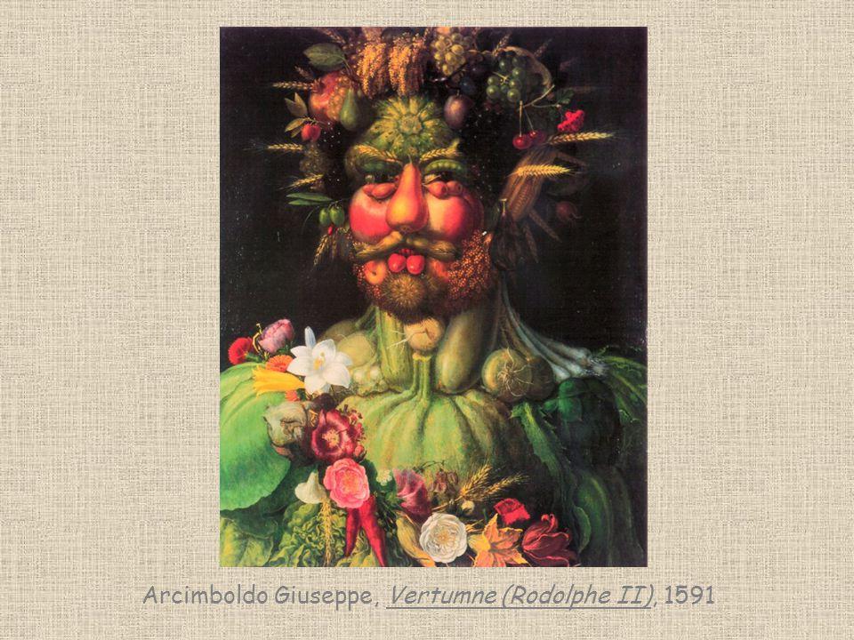 Arcimboldo Giuseppe, Vertumne (Rodolphe II), 1591