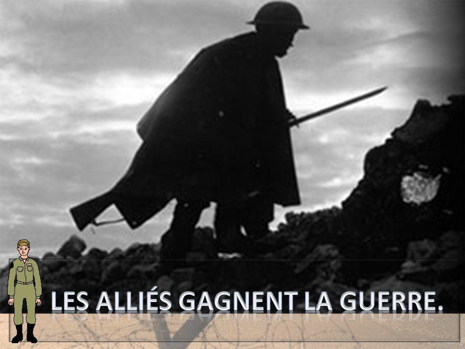 Août-novembre 1918 : C'est la seconde bataille de la Marne.
