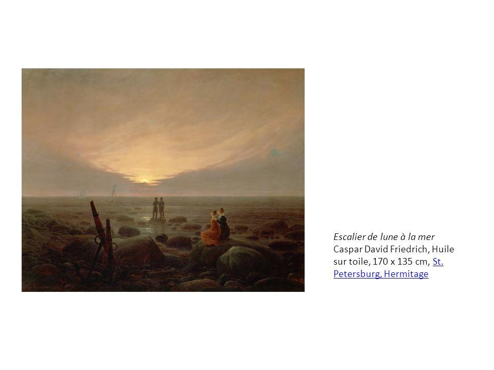 Croix et cathédrale dans la montagne, 1812, huile sur toile, 44,5 × 37,4 cm, Düsseldorf, Kunstmuseum DüsseldorfKunstmuseum