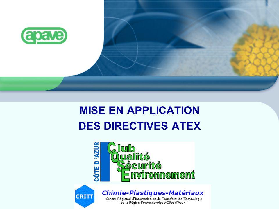 DEMARCHE ATEX 2 Retour Explosion Feyzin18 morts Blaye11 morts Toulouse (AZF)30 mort (sept 2001) Biens Destruction - bâtiments, - outils de travail, - etc...