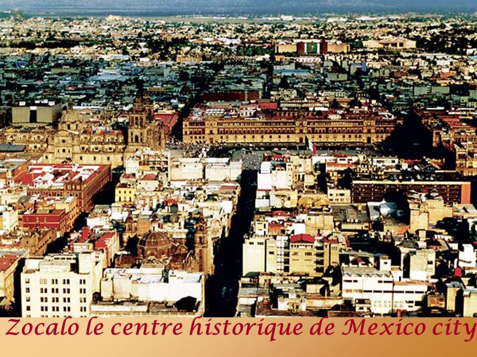 Tenochtitlan, la cité lacustre que découvrit Cortes quand il arriva sur le site de l actuel Mexico