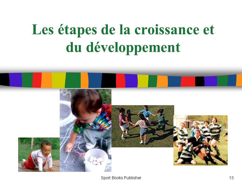 Sport Books Publisher13 Les étapes de la croissance et du développement