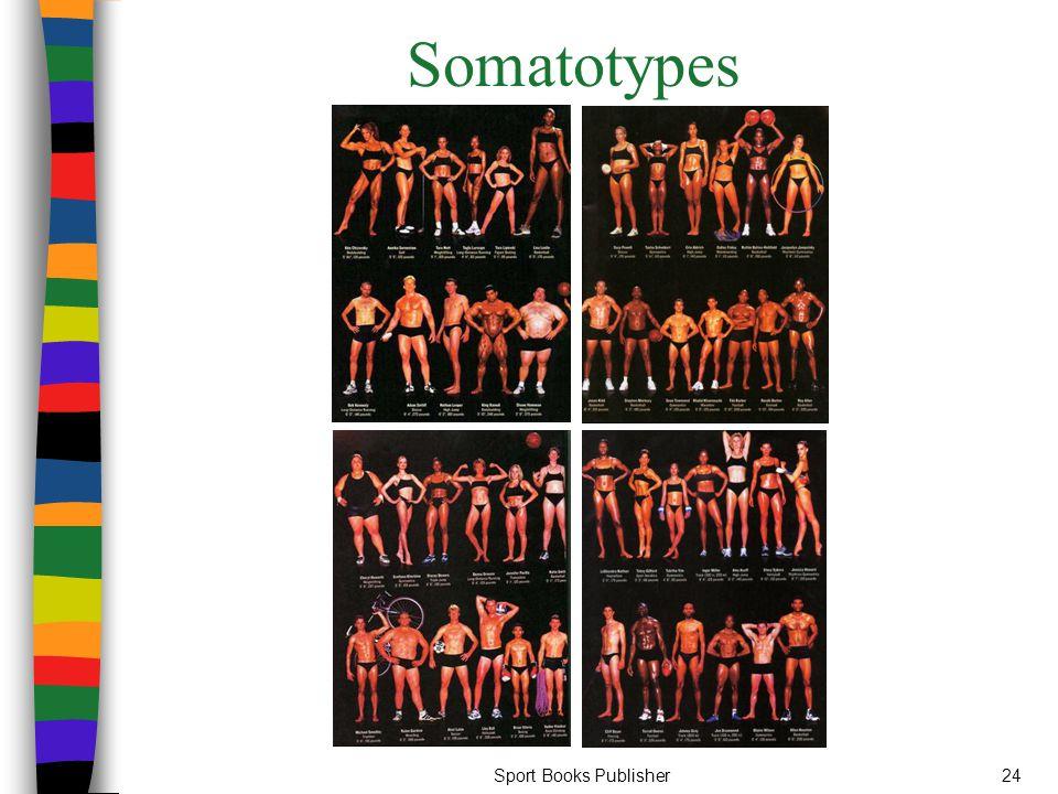 Sport Books Publisher24 Somatotypes