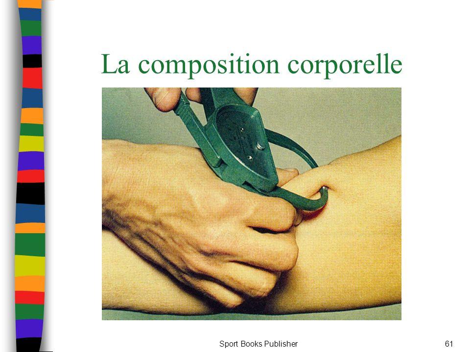 Sport Books Publisher61 La composition corporelle