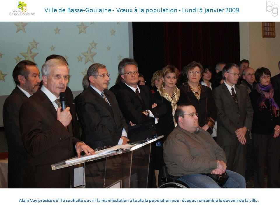 Alain Vey précise qu'il a souhaité ouvrir la manifestation à toute la population pour évoquer ensemble le devenir de la ville. Ville de Basse-Goulaine
