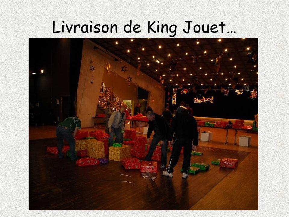 Livraison de King Jouet…