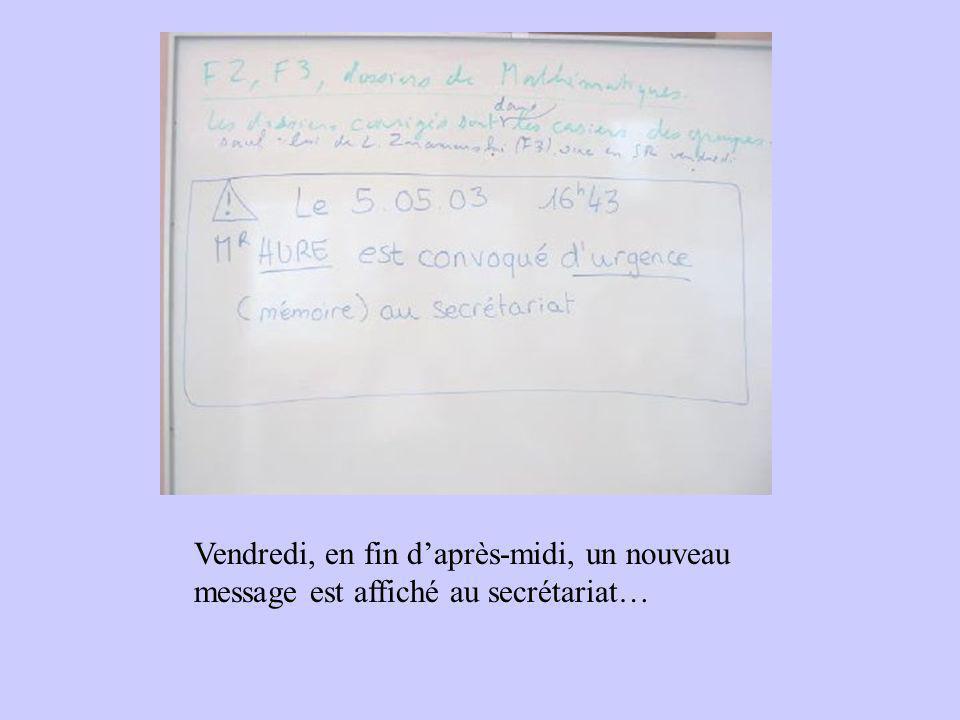 Réalisé par des B2: François Xavier Cyrille Hélène Magali avec l'aimable participation du personnel de l'IUFM