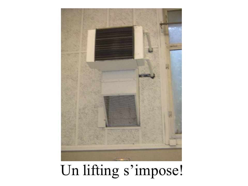 Un lifting s'impose!