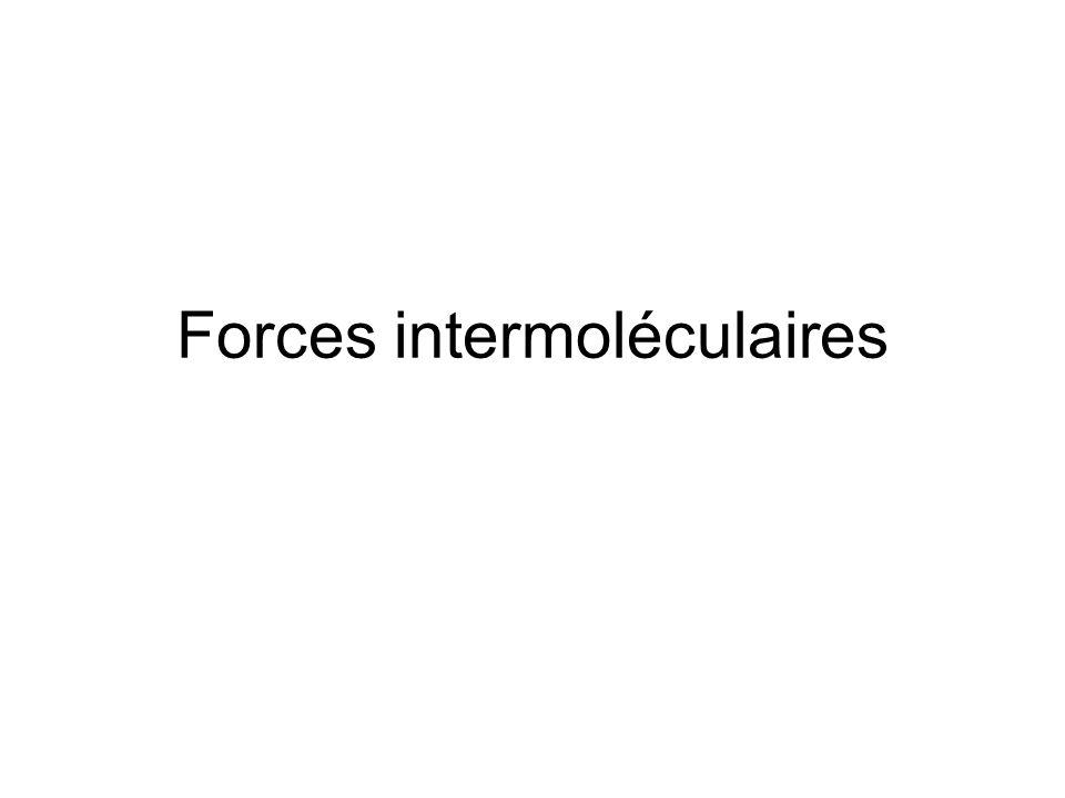 Dipôle induit Un champ électrique peut induire dans une molécule polaire ou non polaire un dipôle induit (tenseur de ) polarisabilité