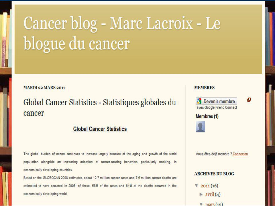Page 19 Projets infirmiers PDA CLSC SCIAD Oncologie Vision du futur…