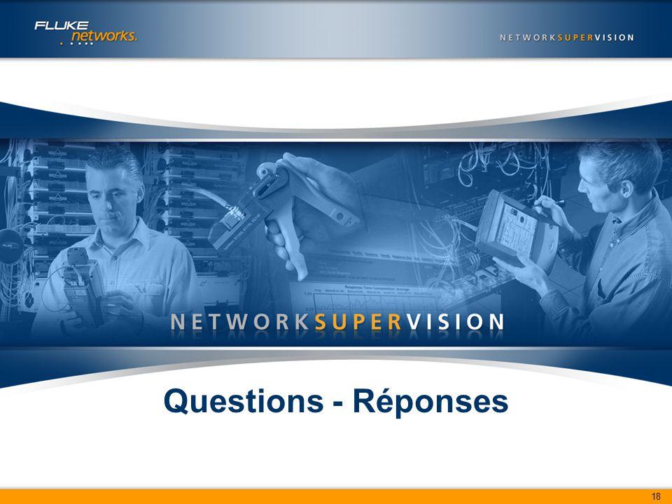 18 Questions - Réponses