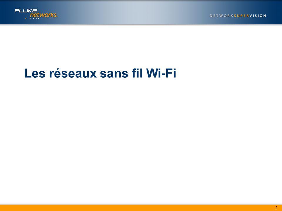 2 Les réseaux sans fil Wi-Fi