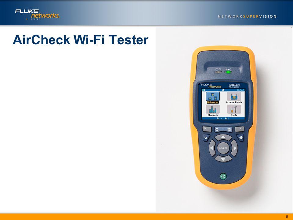 6 AirCheck Wi-Fi Tester