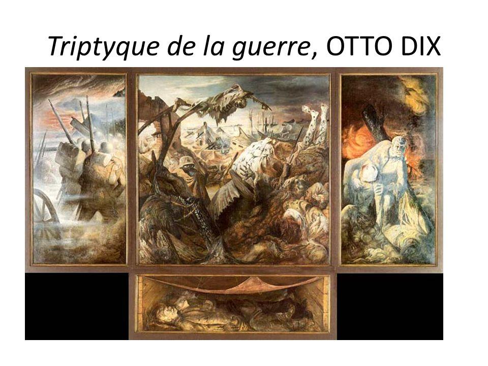 Triptyque de la guerre, OTTO DIX