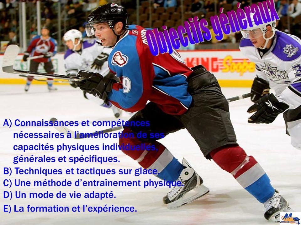 A)Connaissances et compétences nécessaires à l'amélioration de ses capacités physiques individuelles, générales et spécifiques.