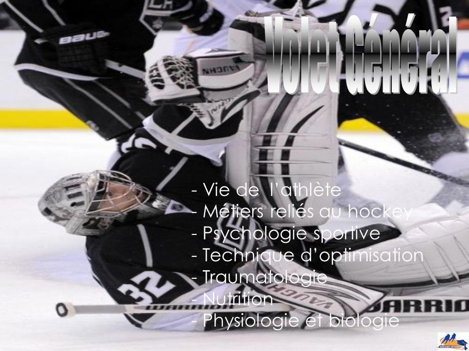 - Entraînement physique - Habiletés techniques (1 er cycle) - Tactiques d'équipe et stratégies (2e cycle)