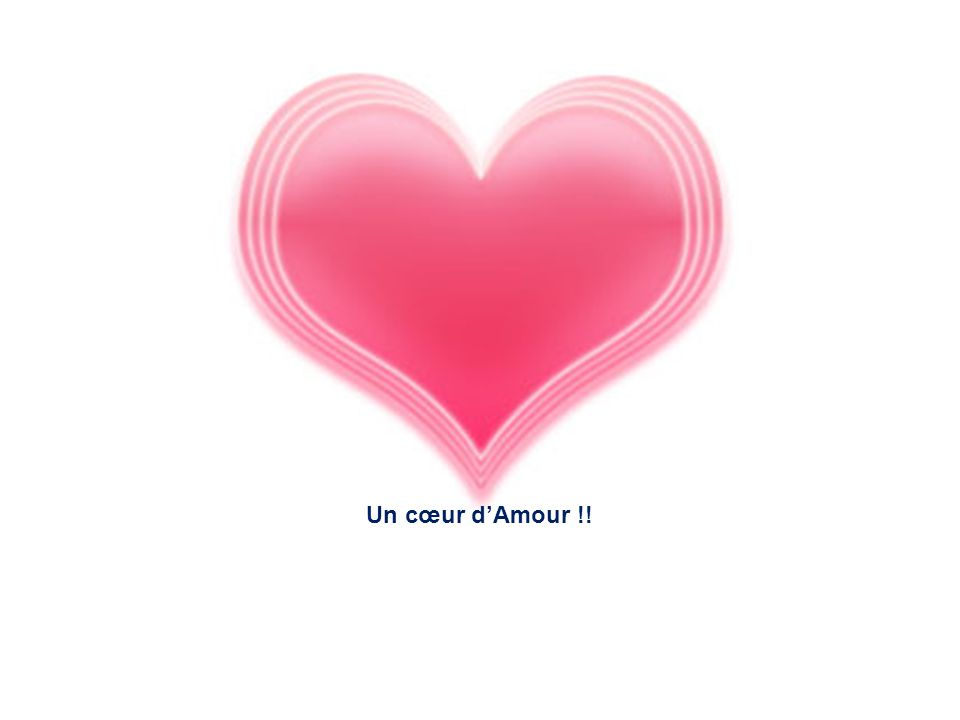 Un cœur d'Amour !!