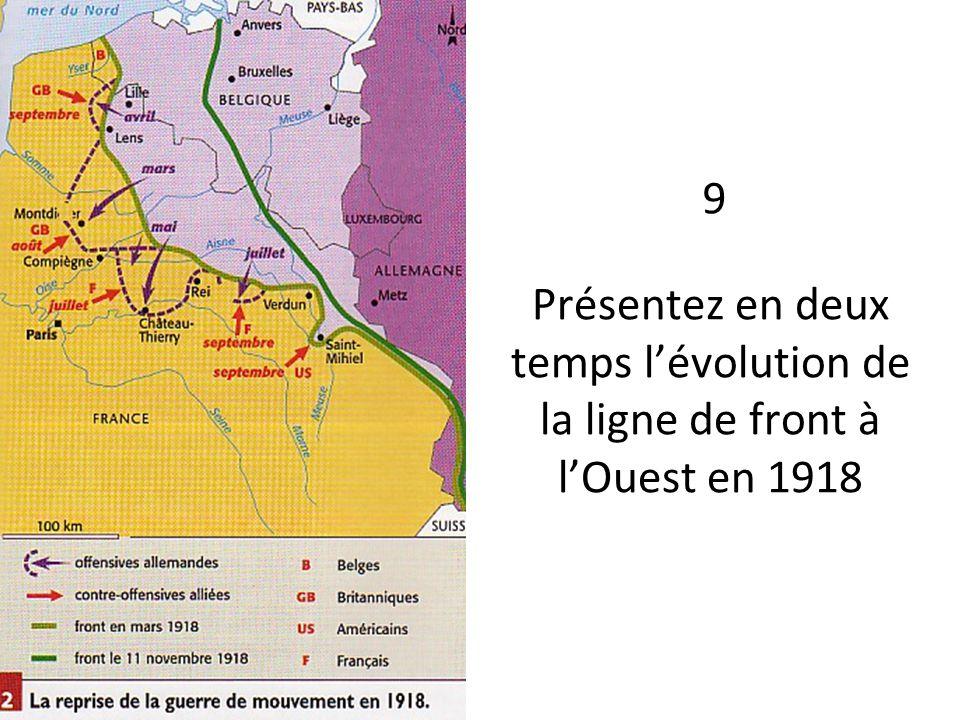 A quelle date prend fin la première guerre mondiale ? 10
