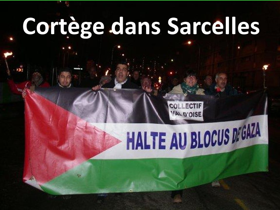Cortège dans Sarcelles
