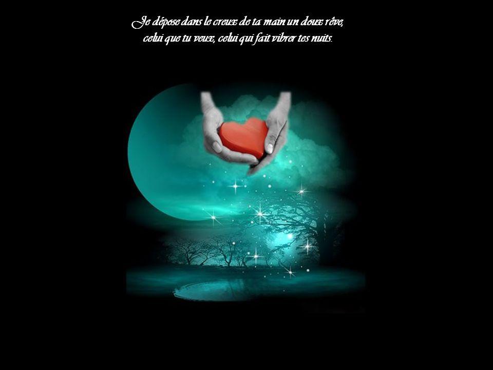 Parfois perdue dans le creux de ma vie, J'aime à me bercer d'illusions qui font sourire mes rêves.