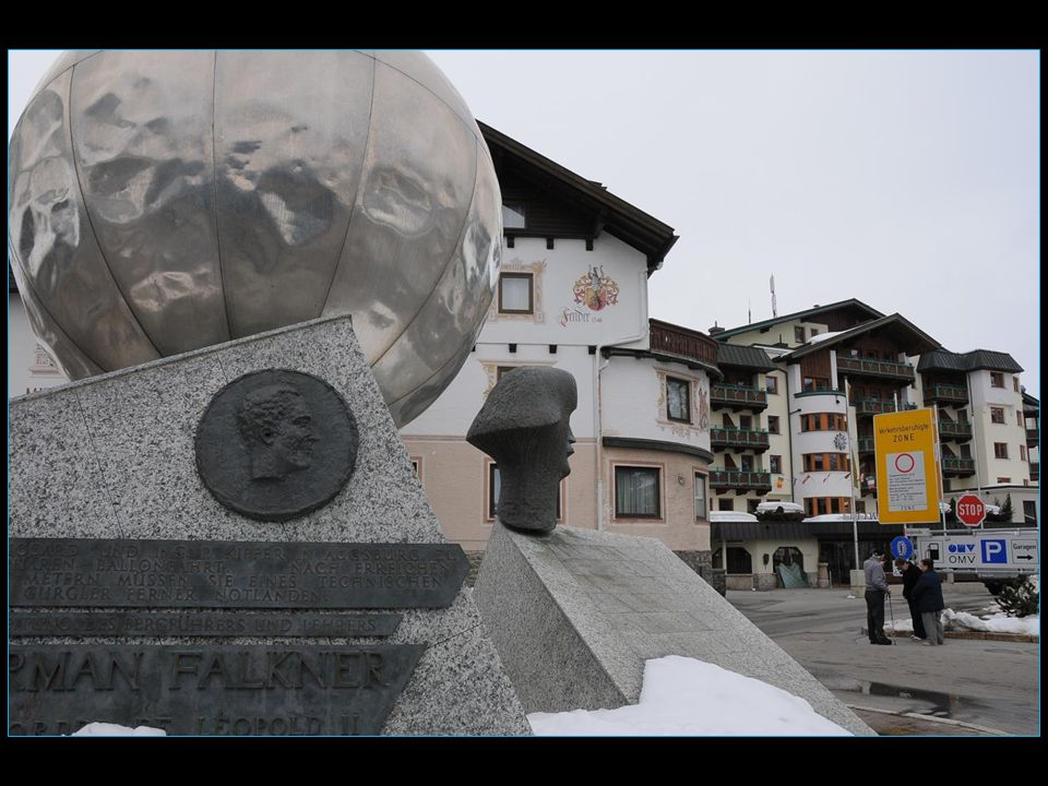 ce village tyrolien serait resté dans l'anonymat si en 1931 Auguste Piccard n'y avait fait escale d'urgence