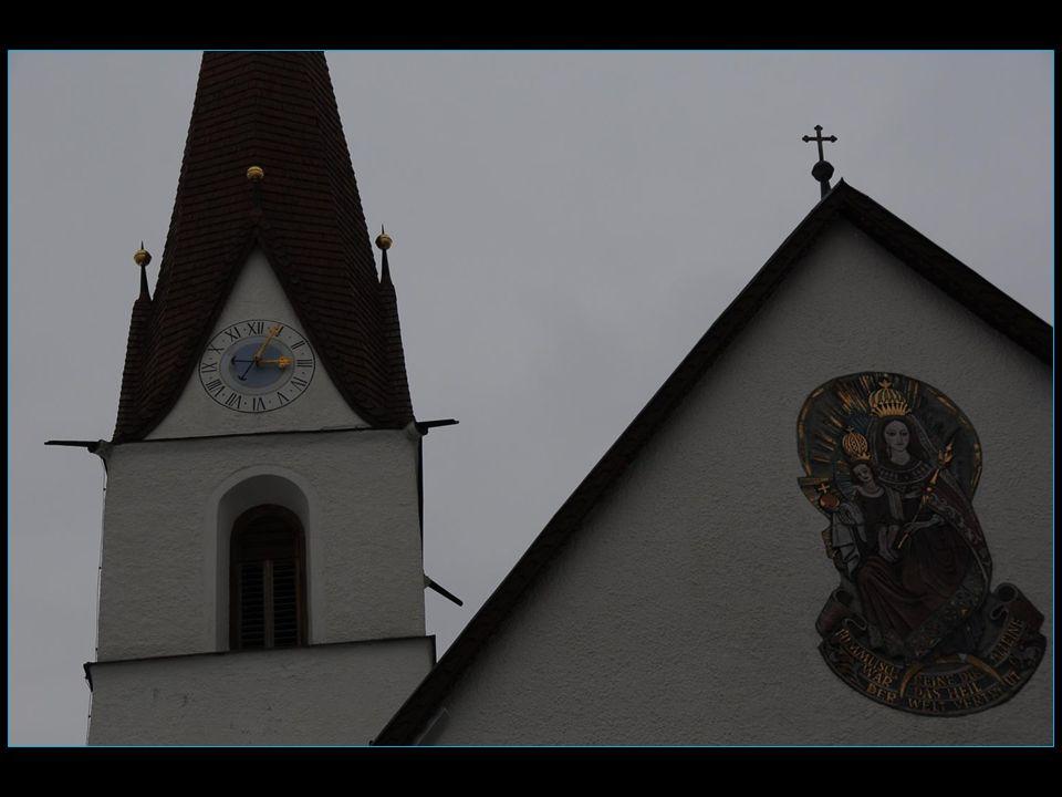 Obergurgl est le plus haut village de la vallée Ötztal