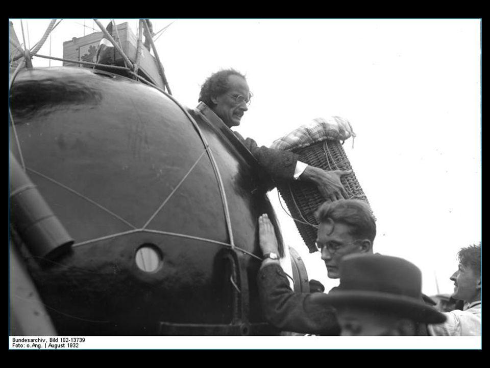 avec son co-équipier Paul Kipfer, ils effectuent un vol souvent chahuté : cabine plus étanche et perd de l'oxygène, commande de soupape coincée pour l
