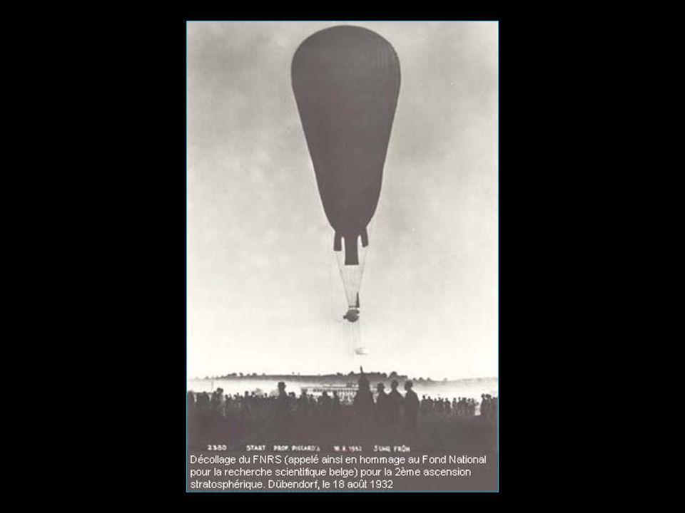 mais c'est le premier vol stratosphérique homologué à 15'781 mètres